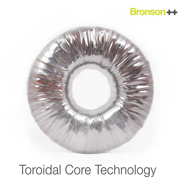 Toroidal core technology for Bronson converters with protective cover
