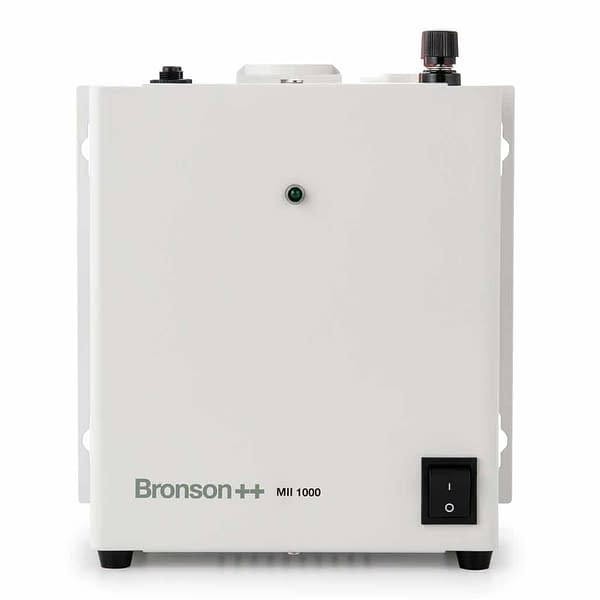 Bronson MII isolation transformer sideview with power switch
